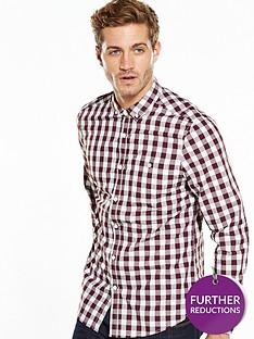 v-by-very-long-sleeve-gingham-shirt