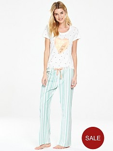 v-by-very-its-the-little-things-heart-pyjama-set