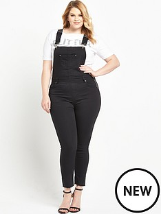 so-fabulous-denim-dungaree-black