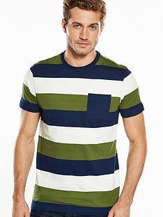 v-by-very-short-sleeve-wide-stripe-pocket-t-shirt