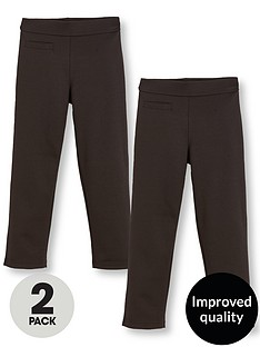 v-by-very-girls-2-pack-jersey-elastic-waist-school-trousers-black