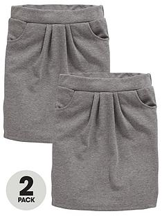 v-by-very-schoolwear-girls-jersey-school-tulip-skirts-grey-2-pack