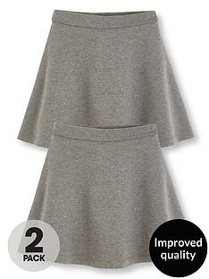 v-by-very-girls-2-pack-jersey-school-skater-skirts-grey