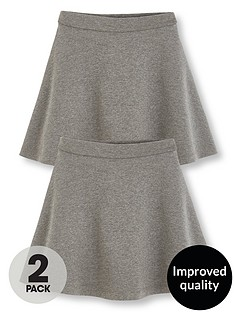 v-by-very-schoolwear-girls-jersey-skater-school-skirts-grey-2-pack