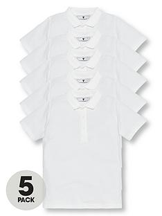 v-by-very-schoolwear-boys-school-polo-shirts-white-5-pack