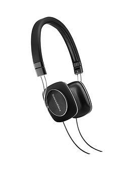 Bowers & Wilkins P3 Series 2 Mobile Headphones  Black