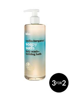 bliss-vanilla-amp-bergamot-soapy-suds-16oz473ml