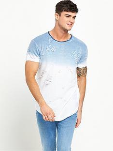 sik-silk-distressed-curved-hem-t-shirt