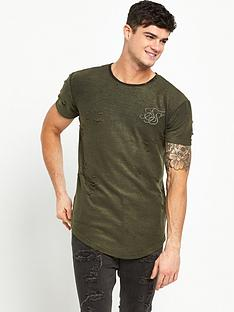 sik-silk-distressed-curved-hem-t-shirt