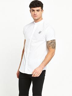 sik-silk-grandad-collar-ss-shirt