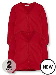 v-by-very-schoolwear-girls-pk2-cardigans
