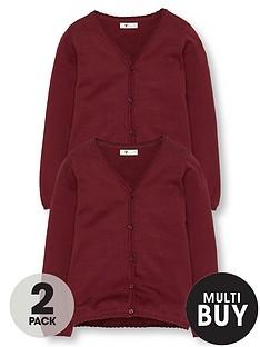 v-by-very-schoolwear-girls-school-cardigans-burgundy-2-pack