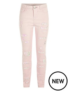 river-island-girls-light-pink-skinny-sequin-jeans