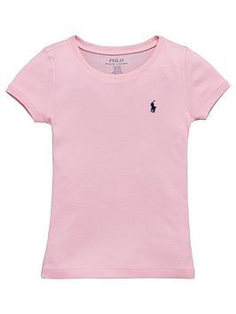 Ralph Lauren Girls Classic TShirt  Pink