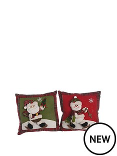 set-of-2-christmas-cushions