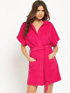 v-by-very-short-sleeved-towelling-robe-with-hood