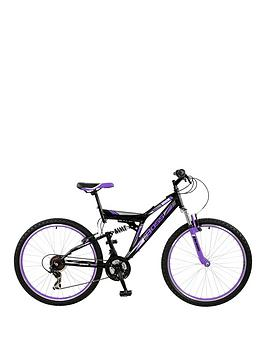 Boss Cycles Venom Ladies Steel Mountain Bike 18 Inch Frame