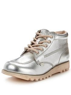 kickers-kick-hi-silver-ankle-boot