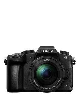 Panasonic Lumix DmcG80 Mirrorless Compact System Camera 1260Mm Lens 4K Ultra Hd WiFi Oled Live Viewfinder 3 Lcd VariAngle Touch Screen Black