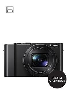 panasonic-lumix-dmc-lx15-201nbspmegapixel-4k-ultra-hd-digital-camera-3x-optical-zoom-3-lcdnbsptiltable-touch-screen-black-with-optional-accessory-kit