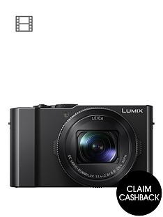 panasonic-lumix-dmc-lx15-201nbspmegapixel-4k-ultra-hd-digital-camera-3x-optical-zoom-3-lcdnbsptiltable-touch-screen-with-up-to-pound100-cashback-black-with-optional-accessory-kitnbsp
