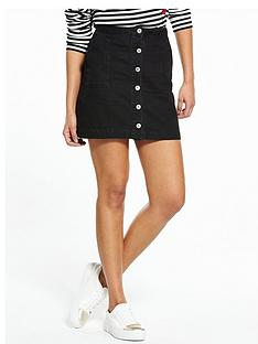 v-by-very-button-through-a-line-mini-skirt