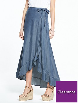 v-by-very-frill-front-maxi-skirt