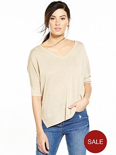 v-by-very-v-necknbspcut-out-back-jumper