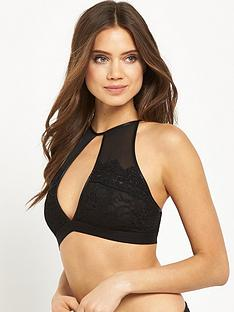 glamorous-high-neck-lace-strappy-bralettenbsp