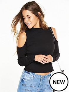 v-by-very-petite-cropped-ribbed-long-sleeve-crop-top