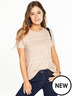 v-by-very-petite-soft-rib-slogan-t-shirt