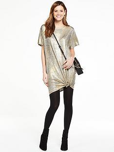 v-by-very-foil-print-t-shirt-dress