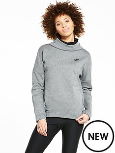 nike-tech-fleece-funnel-hoodie