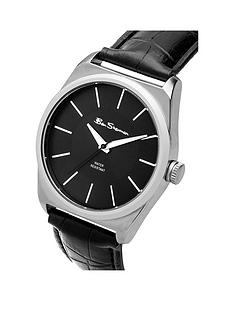 ben-sherman-ben-sherman-mens-black-dial-black-strap-watch