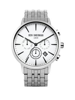 ben-sherman-ben-sherman-mens-white-multi-dial-black-detail-silver-strap-watch