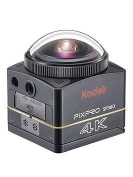 Kodak Pixpro Sp360 360 Degree 4K Action Cam Nfc Wifi Dual Pro Pack