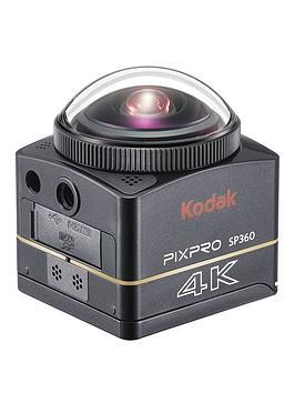 Kodak Pixpro Sp360 360 Degree 4K Action Cam Premier Extreme Pack