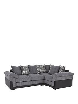 Very Phoenix Right Hand Double Arm Corner Group Sofa Picture