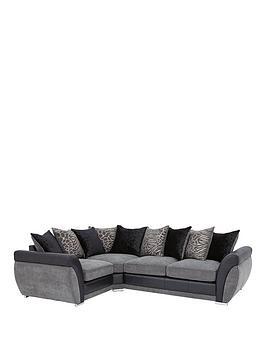 Hilton LeftHand Double Arm Corner Group Sofa