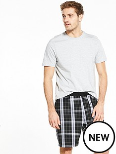 v-by-very-check-short-pyjama