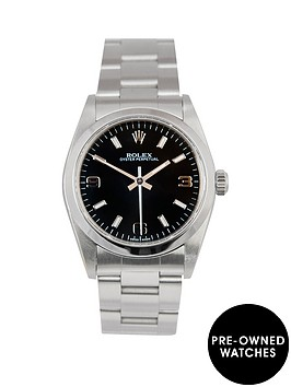 rolex-rolex-midsize-steel-oyster-perpetual-black-3-6-and-9-31mm-dial-stainless-steel-ladies-watch-2002