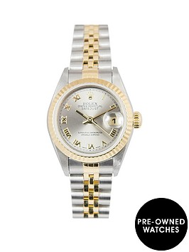 rolex-rolex-bimetal-datejust-grey-roman-numeral-26mm-dial-steel-amp-18k-yellow-gold-ladies-watch-including-p