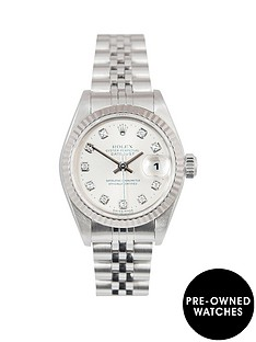 rolex-rolex-datejust-original-new-set-silver-diamond-26mm-dial-stainless-steel-ladies-watch-2001-pre-own