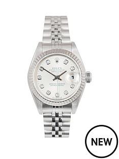 rolex-rolex-datejust-original-new-set-silver-diamond-26mm-dial-stainless-steel-ladies-watch-2001-pre-own