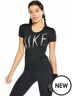 nike-pro-short-sleeved-summer-graphic-top-blacknbsp