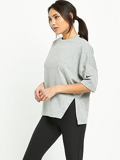 nike-dry-versa-34-sleeve-top