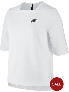 nike-sportswear-tech-fleece-top-whitenbsp