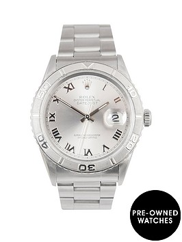 rolex-rolex-datejust-turnograph-charcoal-36mm-dial-stainless-steel-men039s-watch-1996-pre-owned