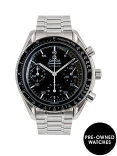 omega-omega-speedmaster-39mm-dial-stainless-steel-men039s-watch-1995-pre-owned