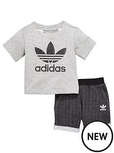 adidas-originals-adidas-originals-baby-boys-texture-trefol-shorts-set
